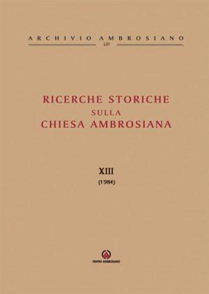 RICERCHE-STORICHE-XIII