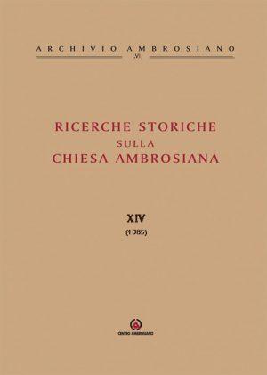 RICERCHE-STORICHE-XIV