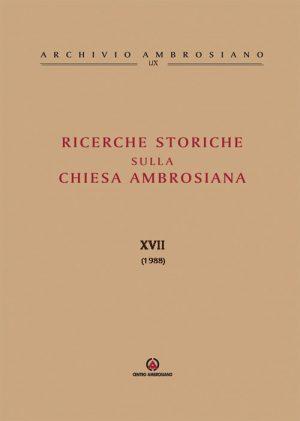 RICERCHE-STORICHE-XVII
