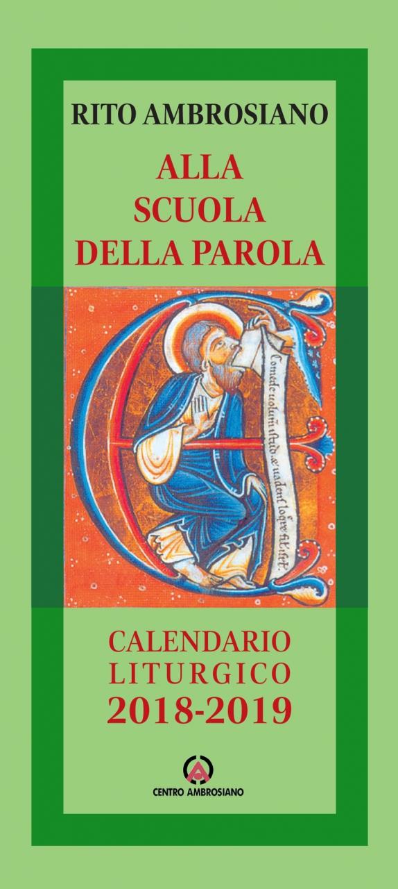 Calendario Liturgico Per Bambini.Alla Scuola Della Parola